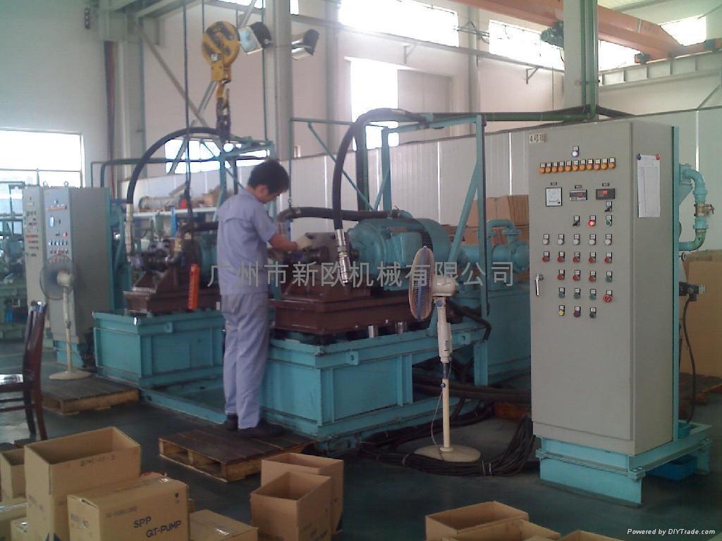 液压齿轮泵出厂试验台