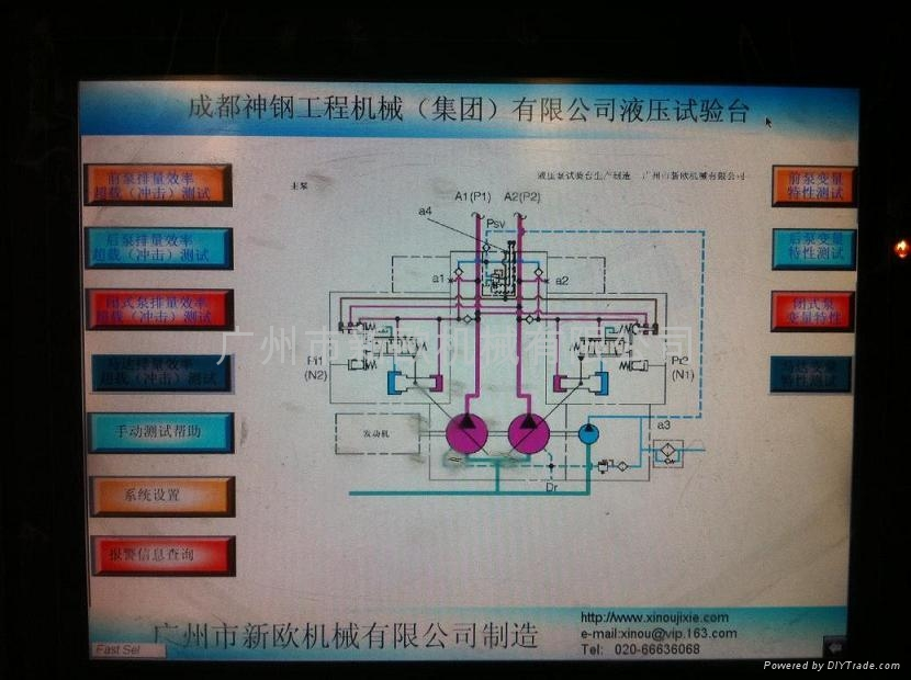 液压泵马达综合试验台