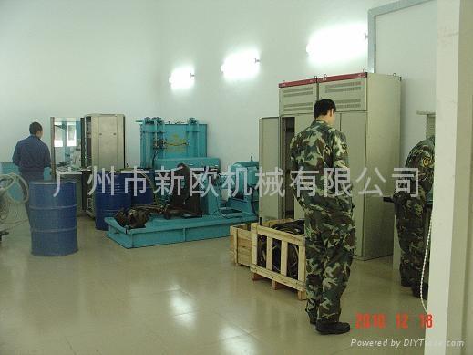 武警消防液压试验台