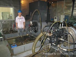 神钢液压泵马达试验台